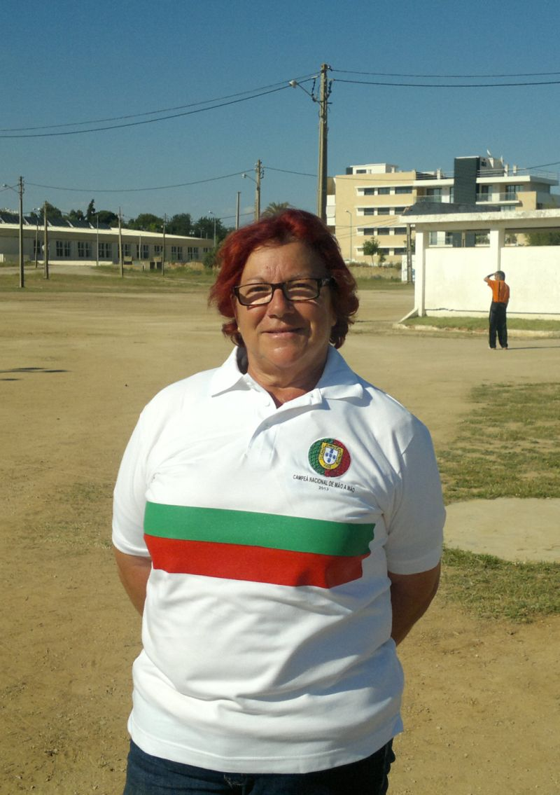 1ª Classificada - Rosa Semião, Clube Caça e Pesca do Séqua.
